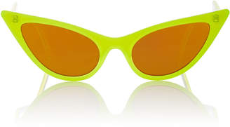 Le Specs Adam Selman X The Prowler Acetate Cat-Eye Sunglasses