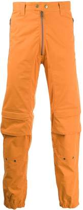 GmbH cargo panelled trousers