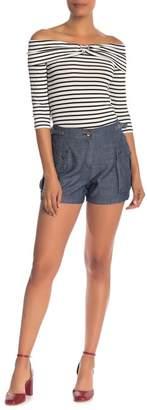 Trina Turk Zircon Cargo Pocket Shorts