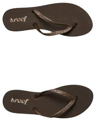 Reef New Women's Stargazer Thong Rubber Soft Gold