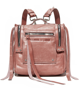 McQ - Alexander McQueen Mini Convertible Box Backpack $570 thestylecure.com