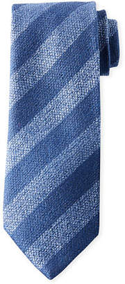 Charvet Men's Diagonal Stripe Silk Tie