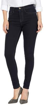 J by Jasper Conran Navy 'Sculpt And Lift' High-Waisted Skinny Jeans