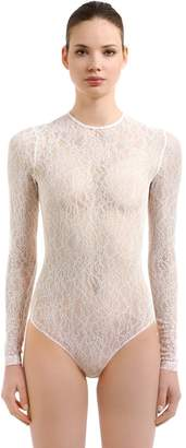Givenchy Sheer Lace Bodysuit
