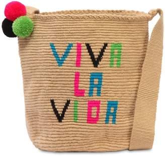 Viva La Vida Mochila Woven Bucket Bag