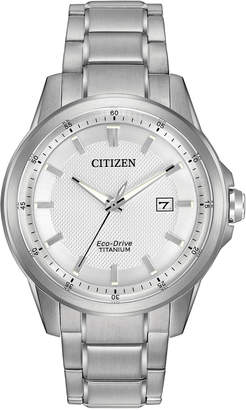 Citizen 42mm Eco-Drive Men's Bracelet Watch