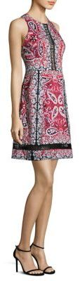Nanette Lepore Overboard Paisley-Print Dress $498 thestylecure.com