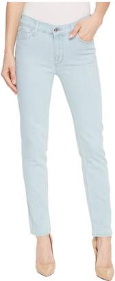 Hudson Tally Mid-Rise Skinny Crop Jeans in Sage Extract Women's Jeans