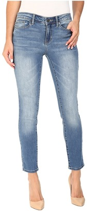 Calvin Klein Jeans Ankle Skinny Jeans in Marshy Rain $69.50 thestylecure.com