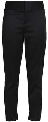 Alice + Olivia Cadence Cropped Stretch-Wool Skinny Pants