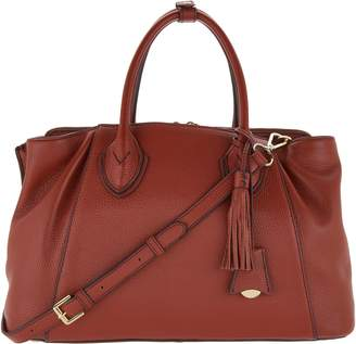 G.I.L.I. Got It Love It G.I.L.I. Leather Triple Compartment Tuscany Satchel