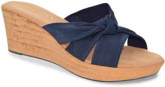 Italian Shoemakers Panache Wedge Sandal - Women's