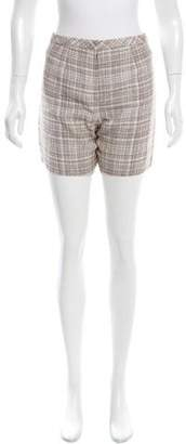 Marc Jacobs Patterned Mini Shorts w/ Tags