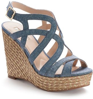 Jennifer Lopez Women's Espadrille Wedge Sandals $69.99 thestylecure.com