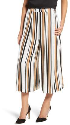 LIRA Riviera Stripe Crop Wide Leg Pants