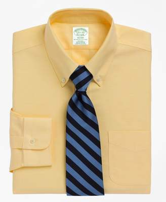 Brooks Brothers BrooksCool Milano Slim-Fit Dress Shirt, Non-Iron Button-Down Collar
