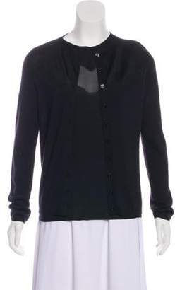 Christian Dior Lightweight Knit Cardigan Set Black Lightweight Knit Cardigan Set
