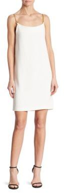 Trina Turk Benita Cowl-Back Slip Dress $278 thestylecure.com