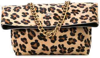 Sous Les Pavés Spritz leopard print bag