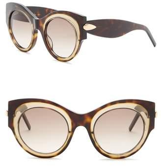 Boucheron 48mm Cat Eye Sunglasses