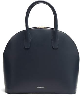 Mansur Gavriel Navy-lined top-handle leather bag