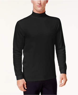 Club Room Men Solid Mock-Neck