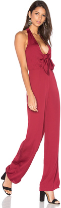 House of Harlow x REVOLVE Coco Tie Front Jumpsuit $218 thestylecure.com