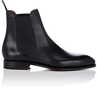 Carmina Shoemaker Men's Leather Chelsea Boots - Black