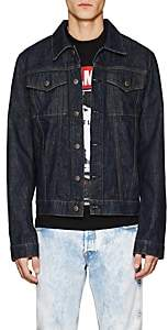 Helmut Lang RE-EDITION Men's Striped Denim Jacket - Dk. Blue