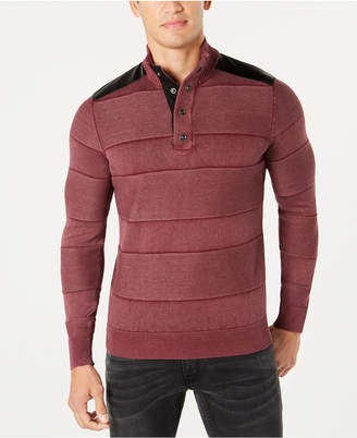 INC International Concepts I.N.C. Men's Mineral Striped Sweater, Created for Macy's