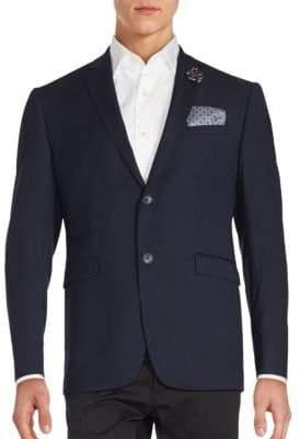 Original Penguin Textured Modern Sportcoat