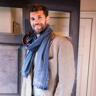 DAY Birger et Mikkelsen Sparks And Daughters Personalised From The Bump Father's Men's Scarf