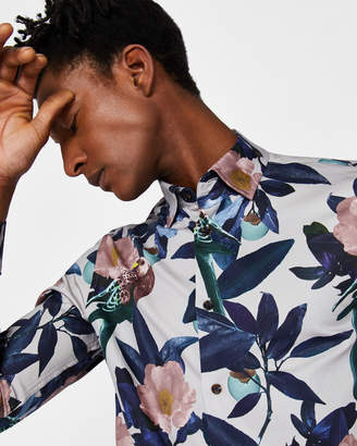 ANNABEL Global floral shirt