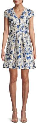 Vince Camuto Floral Mini Dress