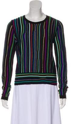 Diane von Furstenberg Striped Knit Sweater