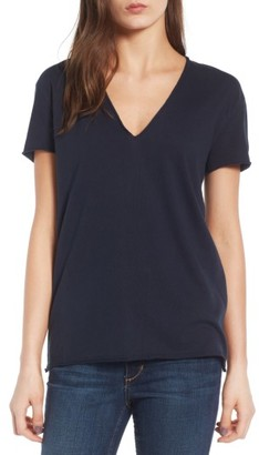 Women's Zadig & Voltaire Story Fishnet Back Cotton Tee $118 thestylecure.com