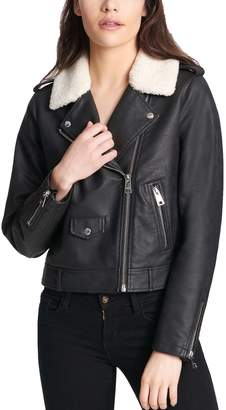 Levi's Levis Women's Faux-Leather Moto Jacket