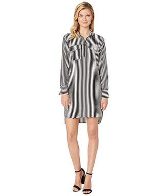 Kenneth Cole New York Zip Front Dress