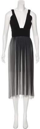 Nicholas Pleat Tuck Dress