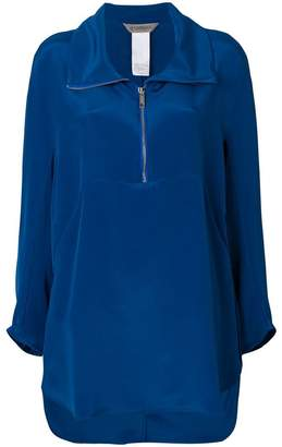 Sportmax front zipped blouse