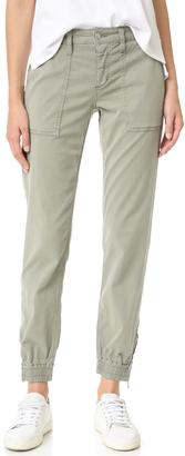 Joe's Jeans Flight Zip Ankle Pants $189 thestylecure.com