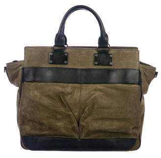 Rag & Bone Suede Pilot Bag