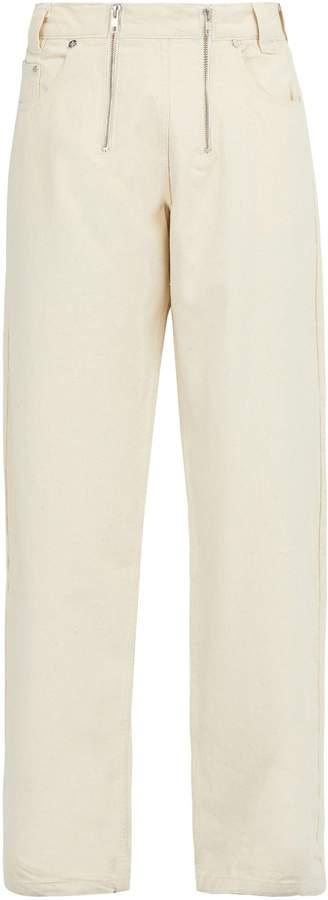 GMBH Cyrus double-zip jeans