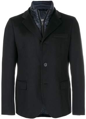 Herno layered padded blazer jacket