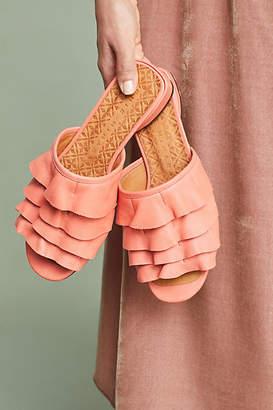 Chie Mihara Volante Ruffled Sandals