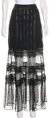 ALICE by Temperley Lace Maxi Skirt