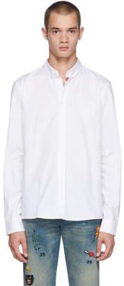 Balmain White Crest Shirt