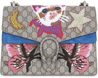 Medium Dionysus Cat Embroidered Bag $3,600 thestylecure.com