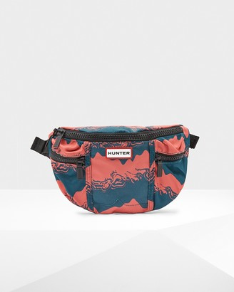 Hunter Printed Nylon Fanny Pack