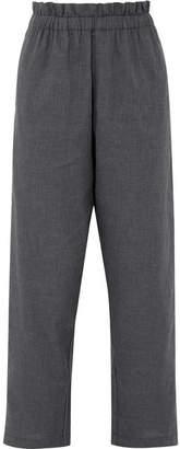 Atlantique Ascoli Voyage Cotton-fleece Pants - Gray